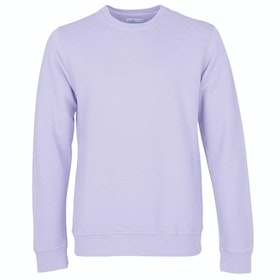 Colorful Standard Classic Organic Crew Pullover - Soft Lavender