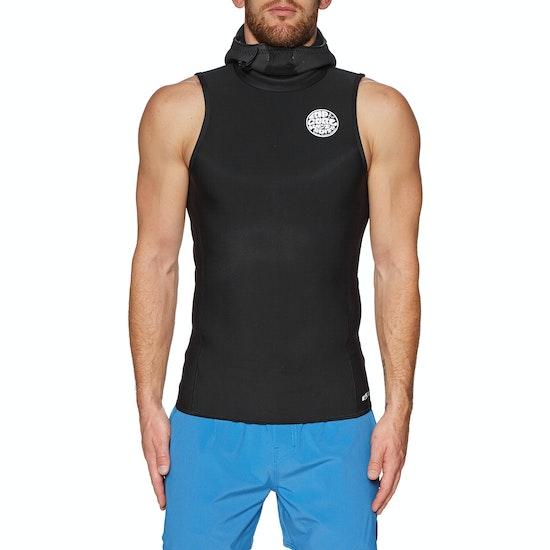Rip Curl Flashbomb 0.5mm Hooded Sleeveless Thermal Rash Vest