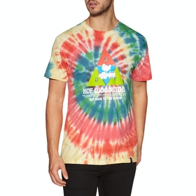 T-Shirt à Manche Courte Huf Woodstock Peaking - Multi