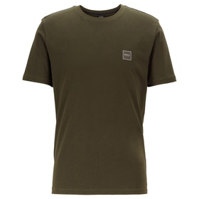 BOSS Tales Men's Short Sleeve T-Shirt - Open Green