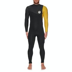 Combinaison de Surf Rip Curl E Bomb 4/3mm Zipperless - Yellow