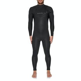 Rip Curl Dawn Patrol Performance 5/3mm Chest Zip Wetsuit - Black
