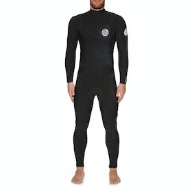 Combinaison de Surf Rip Curl Flashbomb 4/3mm Zipperless - Black