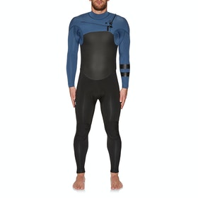 Hurley Advantage Plus 4/3mm Chest Zip Wetsuit - Mystic Navy