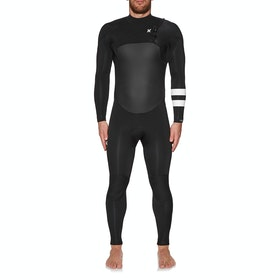 Hurley Advantage Plus 5/3mm Chest Zip Wetsuit - Black
