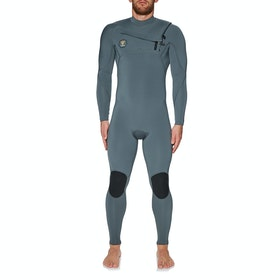 Vissla 7 Seas 4/3mm Chest Zip Neoprenanzug - Charcoal