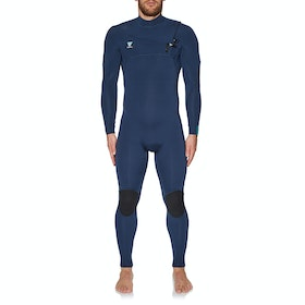 Vissla 7 Seas 5/4mm Chest Zip Neoprenanzug - Strong Blue