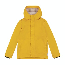 Hunter Original Light Rubberised Kids Jacket - Yellow Ryl