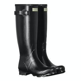 Stivali di Gomma Donna Hunter Norris Field Gloss - Black