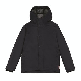 Hunter Original Light Rubberised Kids Jacket - Navy