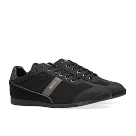 BOSS Glaze Low Profile Men's Shoes - Black