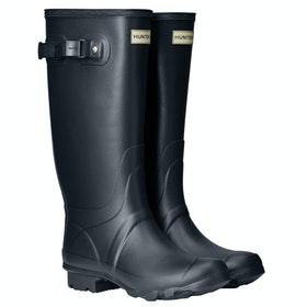 Hunter Field Huntress Ladies Wellies - Navy