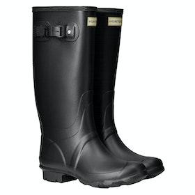 Hunter Field Huntress Ladies Wellington Boots - Black