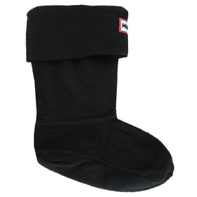 Hunter Original Fleece Childrens Welly Socks - Black