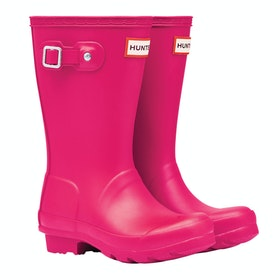 Hunter Original Childrens Wellington Boots - Bright Pink