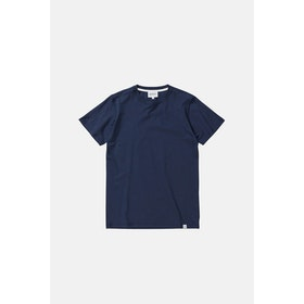 T-Shirt a Manica Corta Norse Projects Niels Standard - Dark Navy