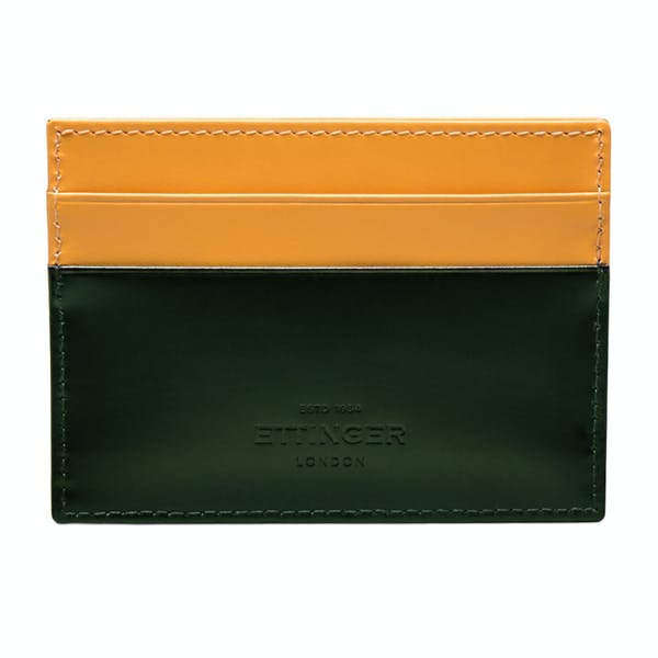 Ettinger Flat Credit Card Case Wallet