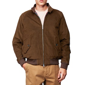 Baracuta G9 Winter Cord Authentic Fit Men's Jacket - Olive