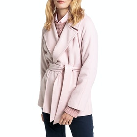 Gant Short Wrap Womens Bunda - Silver Pink