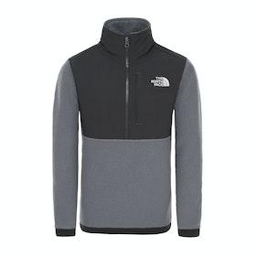 Polaire North Face Balancroc Quarter Zip - Tnf Medium Grey Heather