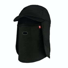 Airhole 5 Panel Hat Balaclava - Black