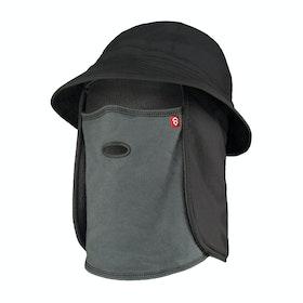Airhole Bucket Hat Balaclava - Charcoal