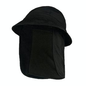 Airhole Bucket Hat Balaclava - Black