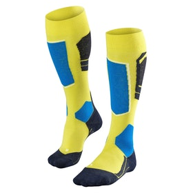 Falke SK4 Men's Snow Socks - Sulfur
