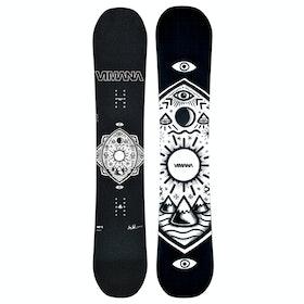Vimana Ennitime Directional Womens Snowboard - Black