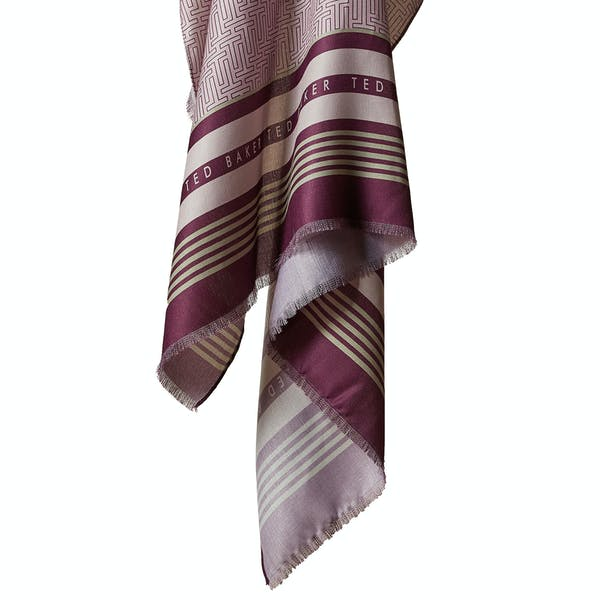 Ted Baker Baaker T Detail Wide Women's Scarf