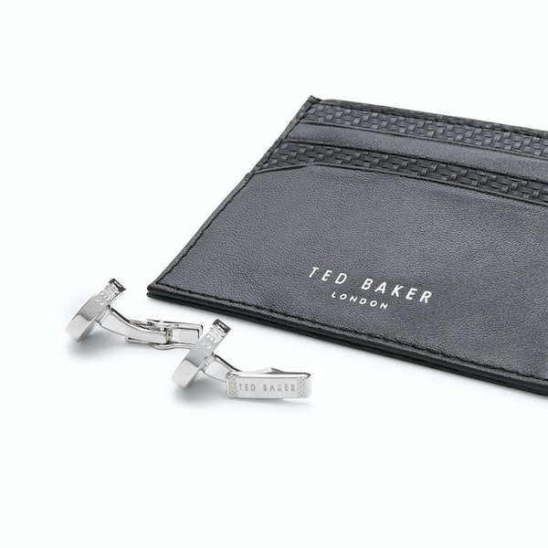 Cufflinks Ted Baker Trabec Gift Set Cardholder And