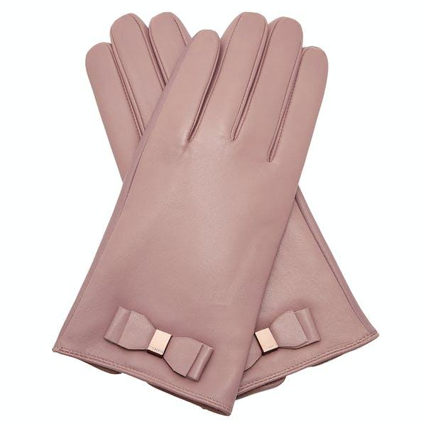 Ted Baker Bblake Bow Detail Glove Women's Gloves