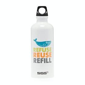 Sigg 2 Minute Beach Clean 0.6L Water Bottle - Design 1