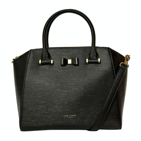 Borsa a Mano Donna Ted Baker Daryyl Bow Detail Tote - Black