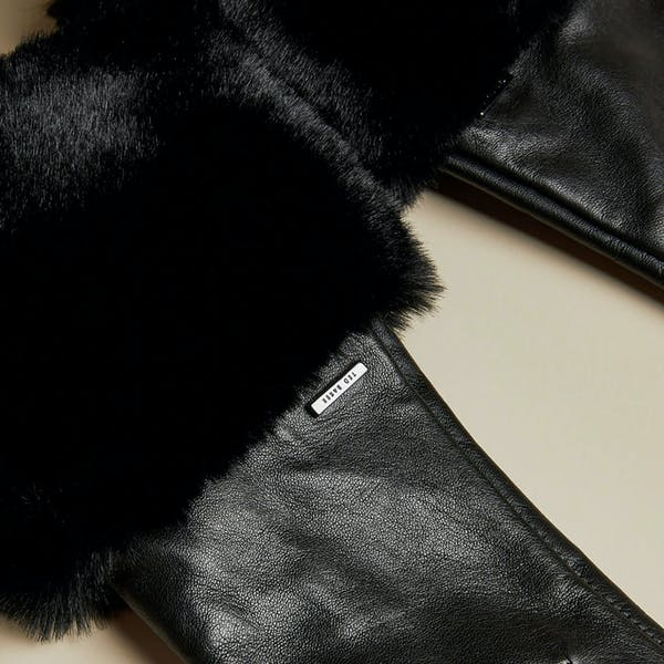 Guantes Mujer Ted Baker Fleuri Faux Fur Cuff Gloves