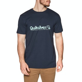 T-Shirt à Manche Courte Quiksilver Modern Legends - Sky Captain