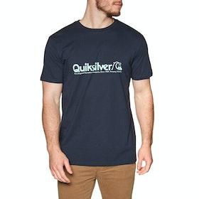 Quiksilver Modern Legends Short Sleeve T-Shirt - Sky Captain