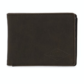 Quiksilver Slim Vintage III Wallet - Chocolate Brown