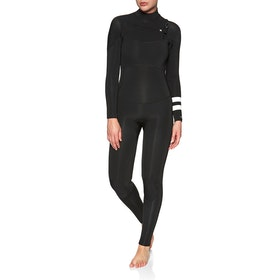 Hurley Advantage Plus 4/3mm Chest Zip Womens Wetsuit - Black