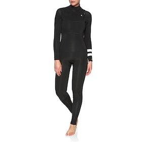 Hurley Advantage Plus 5/3mm Chest Zip Womens Wetsuit - Black
