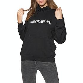 Carhartt Sweat Womens Pullover Hoody - Black White