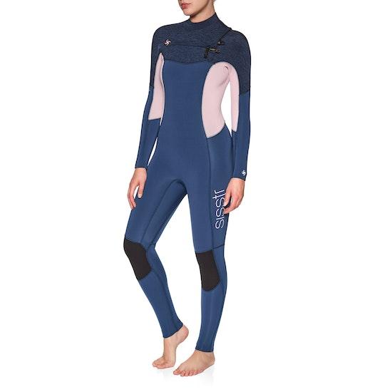 Sisstrevolution 7 Seas 5/4mm Chest Zip Ladies Wetsuit