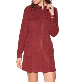 Robe Superdry Hadley Cord Shirt - Furnace Red