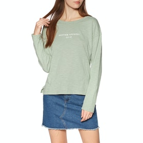 Rhythm Sunset Womens Long Sleeve T-Shirt - Sage