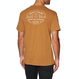 Rhythm Nomad Short Sleeve T-Shirt - Tobacco