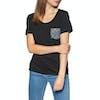 T-Shirt à Manche Courte Rip Curl Beauty Pocket - Black
