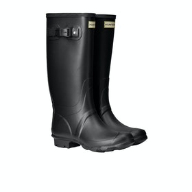 Hunter Field Huntress Womens Wellies - Black
