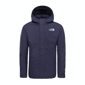 North Face Snow Quest Boys Snow Jacket - Montague Blue