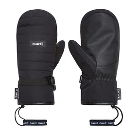 Planks Bro-down Insulated Mitt Snow Gloves - Black