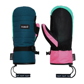 Planks Bro-down Insulated Mitt Snow Gloves - Peacock